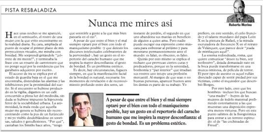 Columna de Roberto Merino