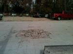 Antes, cancha de patinaje... Hoy, bueno... una muestra de la mala gestión municipal