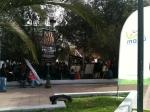 Plaza y acto, un clásico de los fines de semana en el ruidoso Maipú