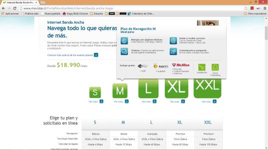 Plan M de 15 Mbps en Chile no permite ver vídeos online